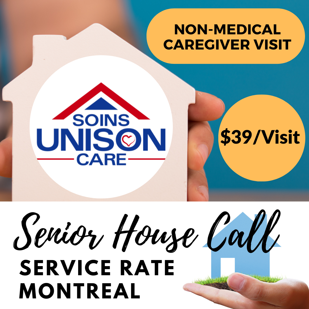 senior house call service rate-unison care