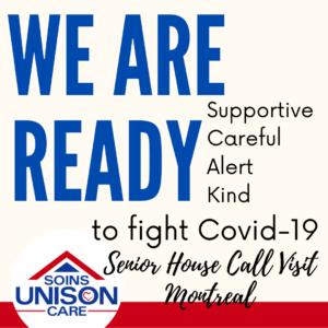 senior house call visit-covid-19-unison care