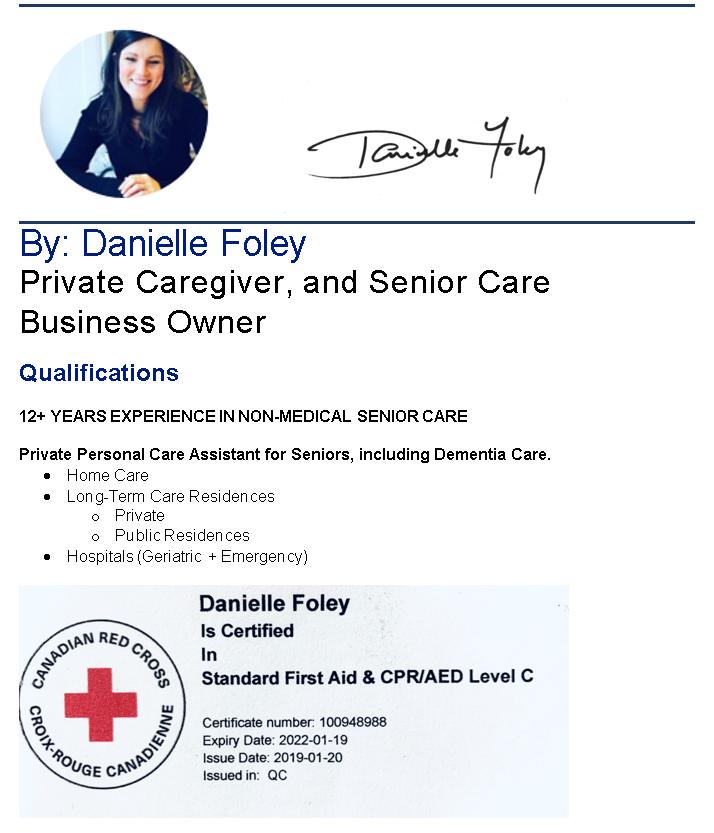 Danielle Foley-unison care